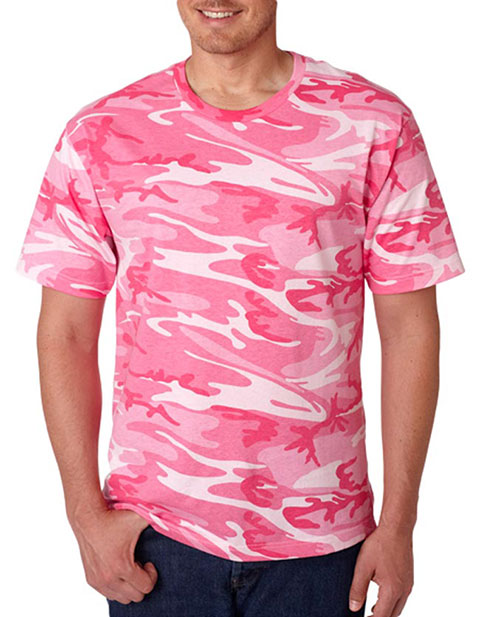3906 Code V Adult Camouflage T-Shirt