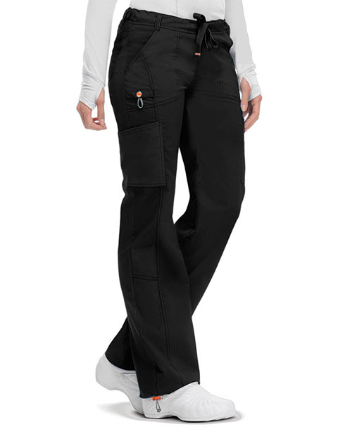 Code Happy Bliss w/Certainty Plus Women's Low Rise Drawstring Cargo Pant