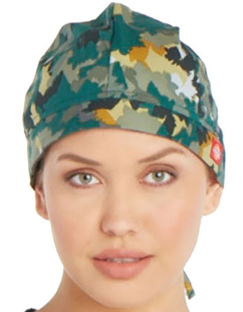 Dickies Unisex Over And Out Printed Scrub Hat