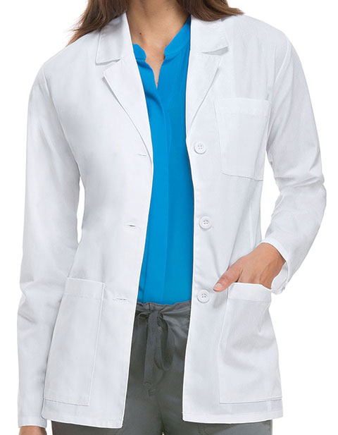 Dickies EDS Professional Whites Women's Antimicrobial 28 Inches Lab Coat