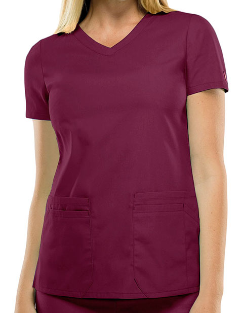 Dickies 85906 Eds Signature Women S V Neck Scrub Top For