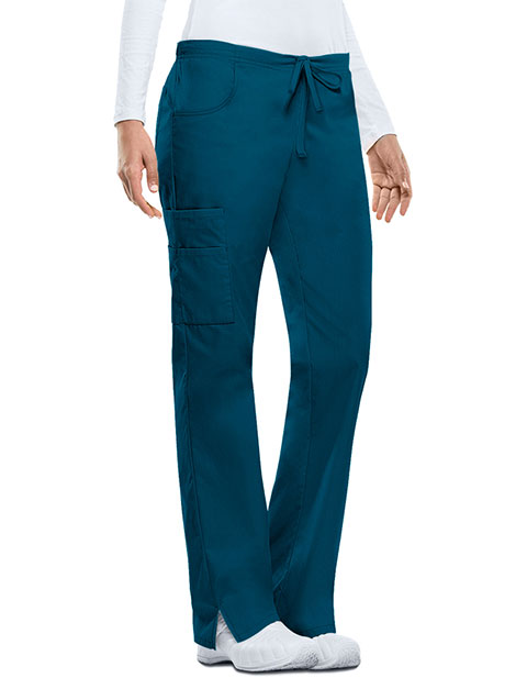Dickies EDS Women's Missy Fit Drawstring Tall Cargo Scrub Pant