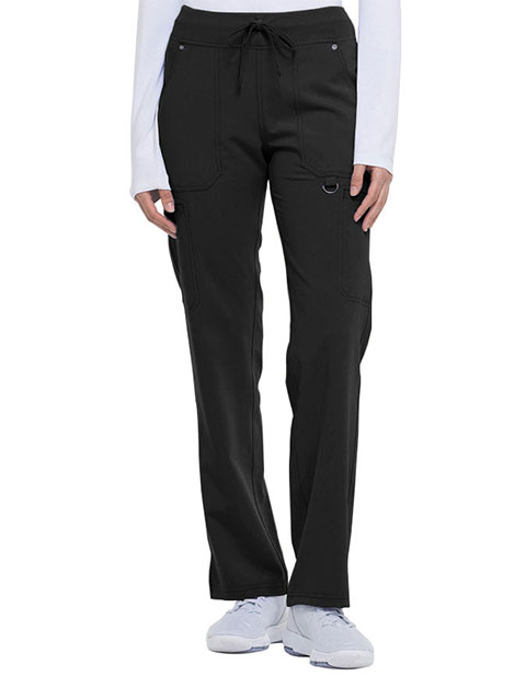 Dickies Xtreme Stretch Women's Mid Rise Rib Knit Waistband Pant