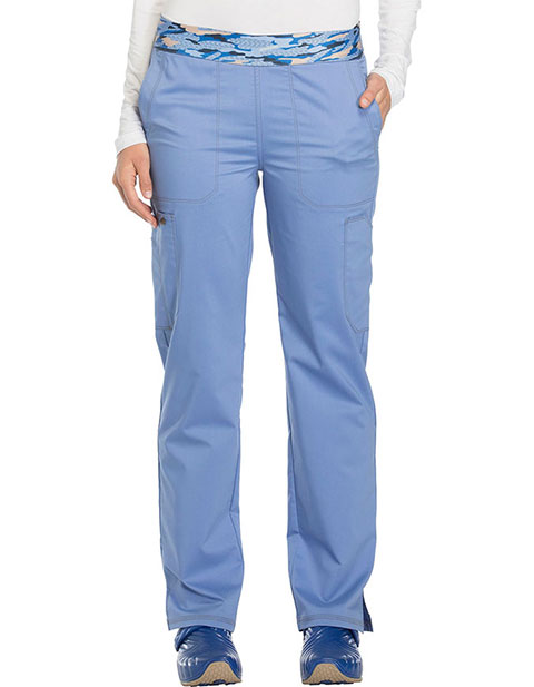 Dickies Essence Women's Mid Rise Tapered Leg Pull-on Pant