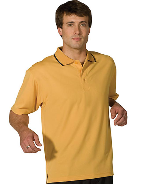 Edwards Men's Tipped Collar Dry-mesh Hi-performance Polo Shirt