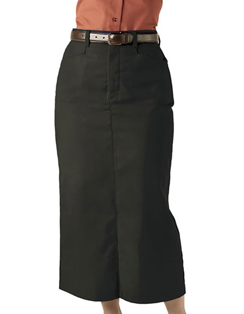 Women's Chino Skirt Long 35 Inches Length