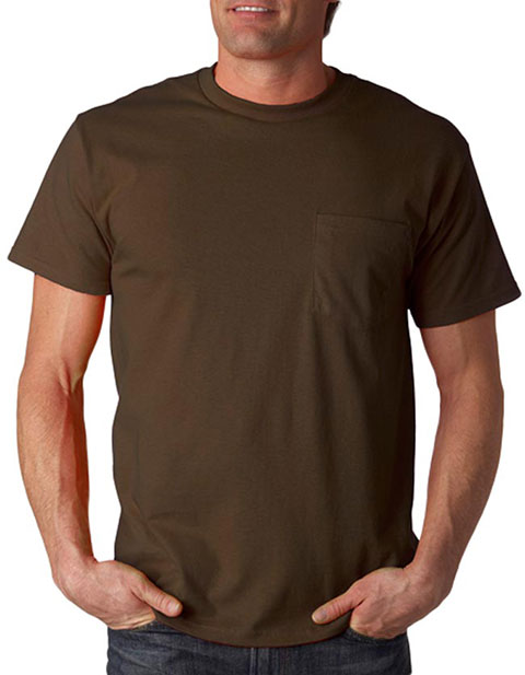 3930P Fruit of the Loom Adult Heavy Cotton HDT-Shirt with Pocket