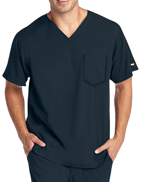 Grey's Anatomy Men's Impact V-neck Basic Top