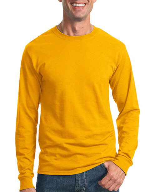 JERZEES - Heavyweight Blend 50/50 Cotton/Poly Long Sleeve T-Shirt. 29LS