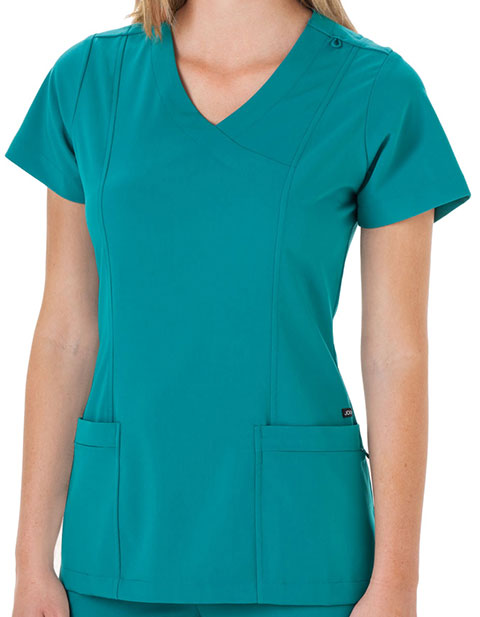 jockey 2306 classic womens mock wrap scrub top for 2999