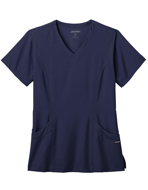 Jockey Modern Women's Meshing Modern V-Neck Scrub Top