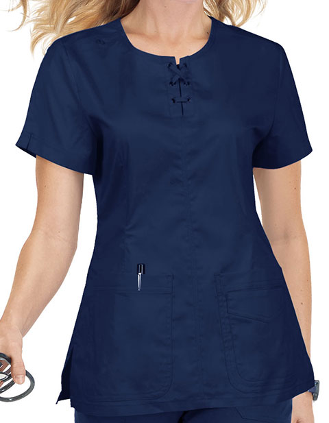 KOI Stretch Women's Missy Fashion Scrub Top