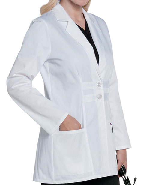 Landau Women's Antimicrobial Fashion Lab Coat