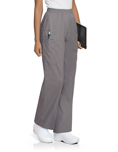 Landau Womens Tall Pull-on Elastic Waistband Medical Scrub Pants