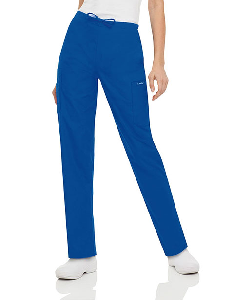 Landau ScrubZone Women Five Pocket Cargo Drawstring Scrub Pants
