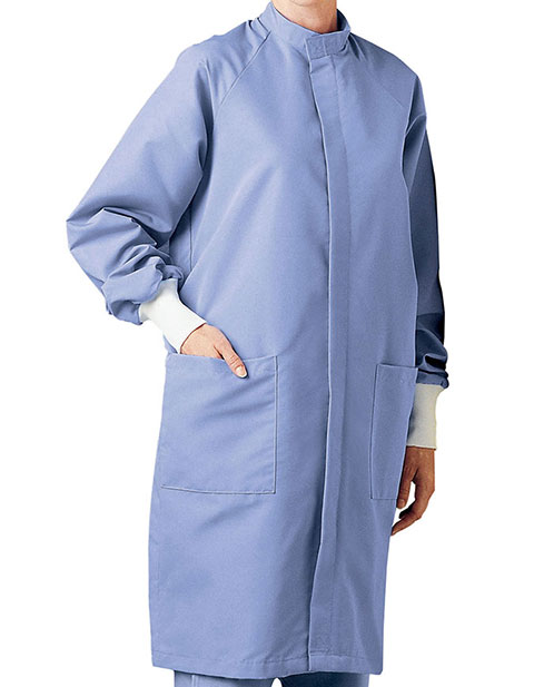 Landau Velcro Closure Barrier 43 inches Long Lab Coat