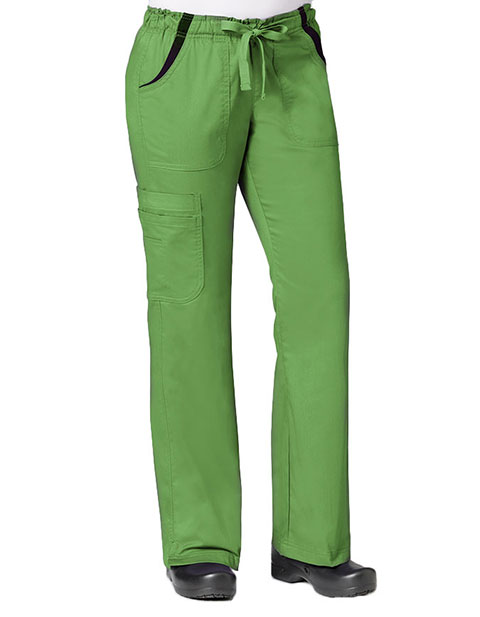 Maevn Empress Women's Contrast Knit Flare Cargo Pant
