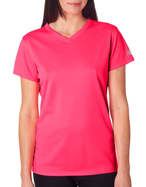 New Balance Ladies' NDurance Athletic V-Neck T-Shirt