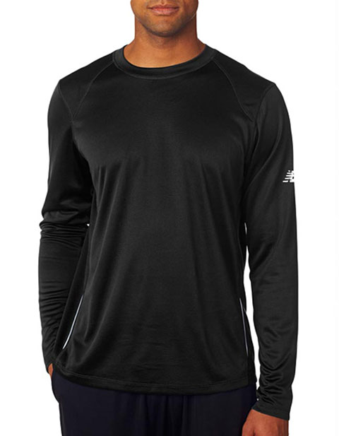 New Balance® Men's Tempo Long-Sleeve Performance T-Shirt