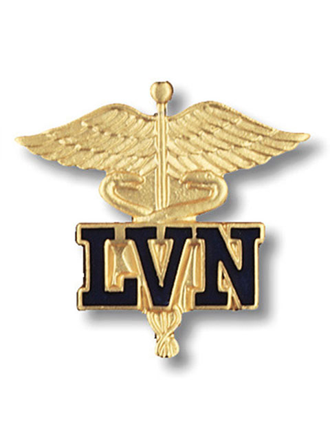 Prestige Licensed Vocational Nurse Emblem Pin
