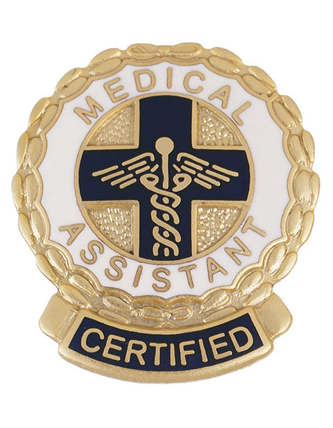 Prestige Certified Medical Assistant Emblem Pin
