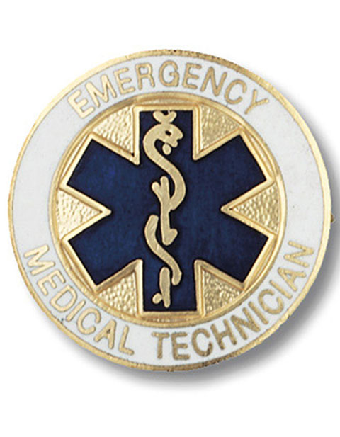 Prestige Emergency Medical Technician Pin