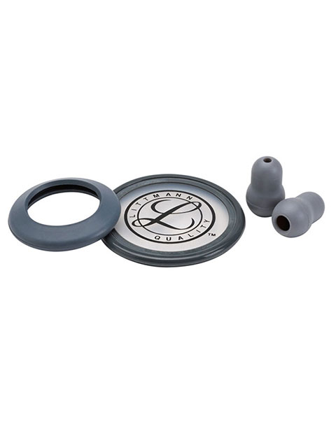 Littmann Stethoscope Spare Gray Parts Kit - Classic II S.E.