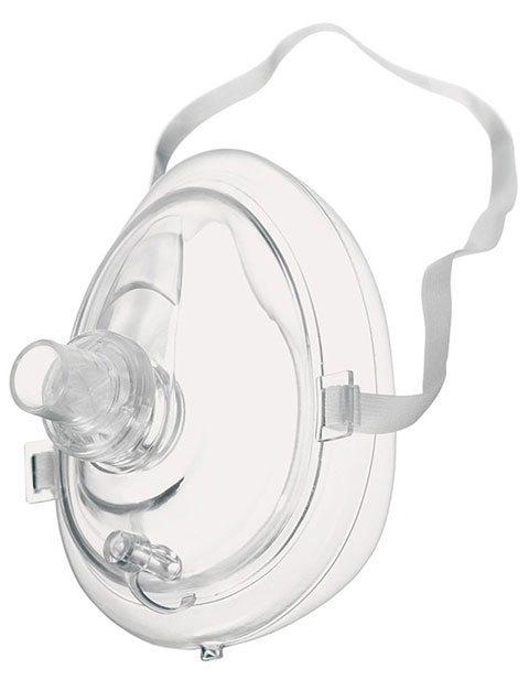 Prestige CPR Resuscitator Latex Free Mask