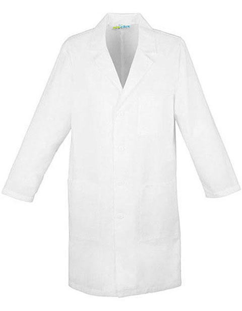 PU Made To Order Unisex Snap Front 32 Inch Short Lab Coat