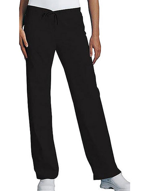 PU Made To Order Women's Low Rise Drawstring Medical Scrub Pants