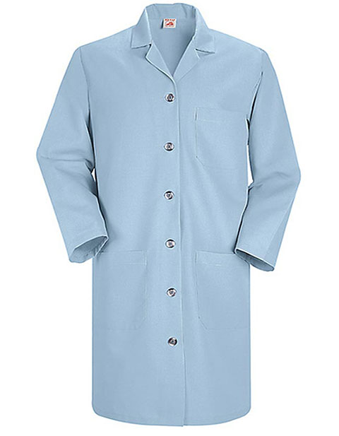 Red Kap Women's 38.25 Inches Light Blue Lab Coat