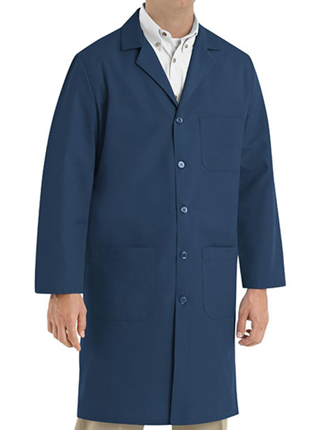 Red Kap Men's 41.5 Inches Three Pocket Colored Lab Coat