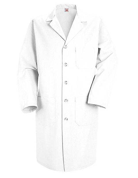 Red Kap Men's 41.5 inch Five Button Medical Lab Coat