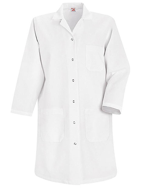 Red Kap Womens Four Pocket 38.25 inch Long Lab Coat