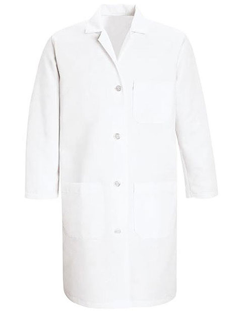 Red Kap Womens Three Pocket 38.25 inch Staff Lab Coat