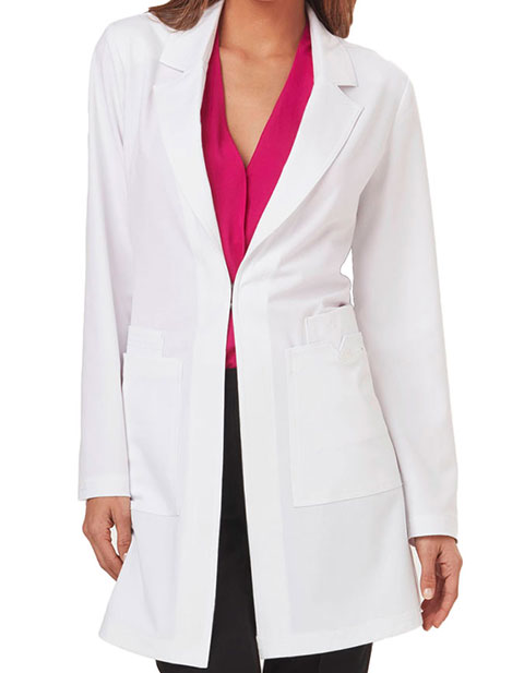 Sapphire Luxury Women's 34 Inches Milan Long Labcoat