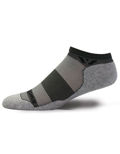 Swiftwick Unisex 1 Pair Pack Antimicrobial No Show Sock