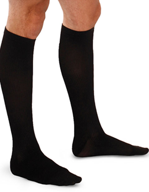 Therafirm Men's 10-15 Mmhg Support Trouser Sock