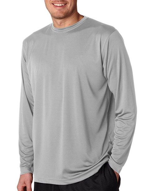 UltraClub Adult Cool & Dry Sport Long-Sleeve Performance Tee
