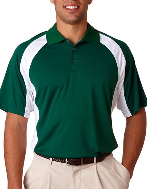 UltraClub Adult Cool & Dry Sport Snag-Resistant Performance Polo