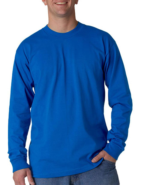 Union Made - Bayside Adult Union Made Long-Sleeve Cotton Tee