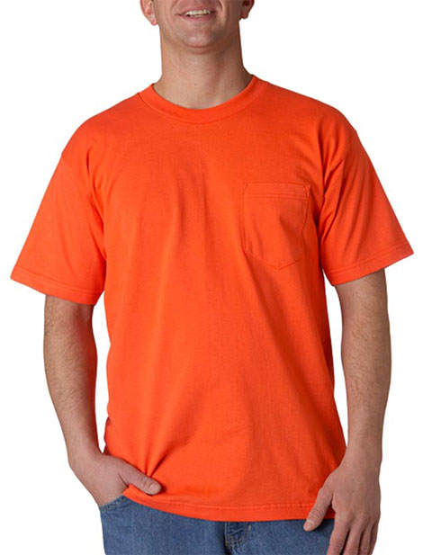 Union Made - Bayside Adult Union Made Cotton Pocket Tee