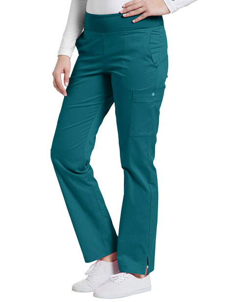 White Cross Allure Women's Yoga Comfort Elastic Waist Tall Pant