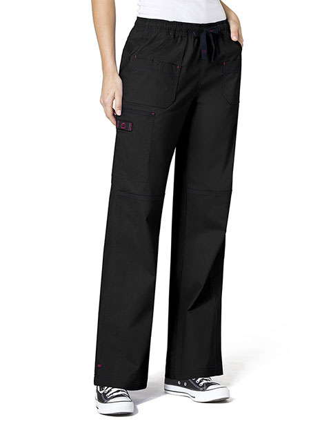 Wink Scrubs WonderFlex Petite Faith Lady Fit Cargo Nurses Scrub Pants