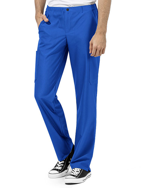 WonderWink WonderTECH Men's Elastic Drawstring Straight Leg Tall Pant