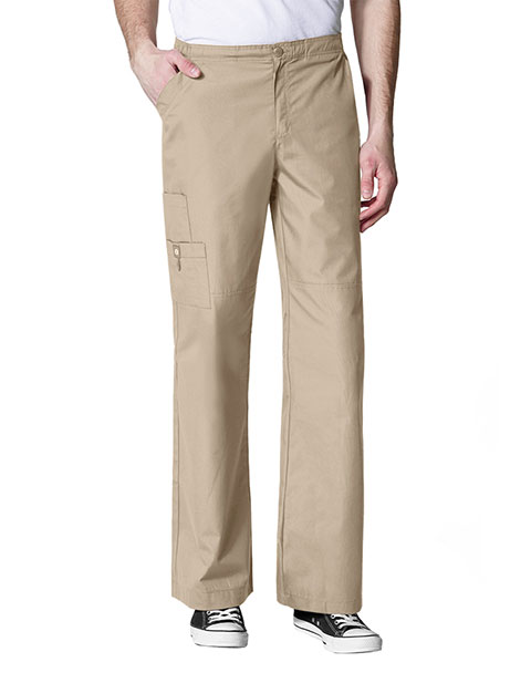 Wink Scrubs Men's Tall Cargo Solid Nursing Pants