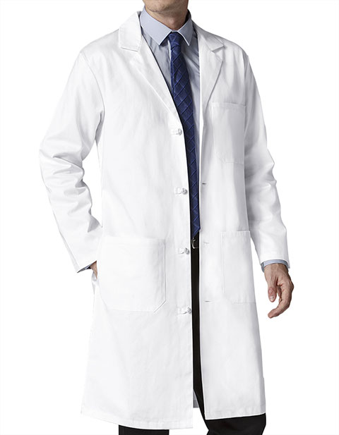 Wink Scrubs Men's Knot Button Lab Coat