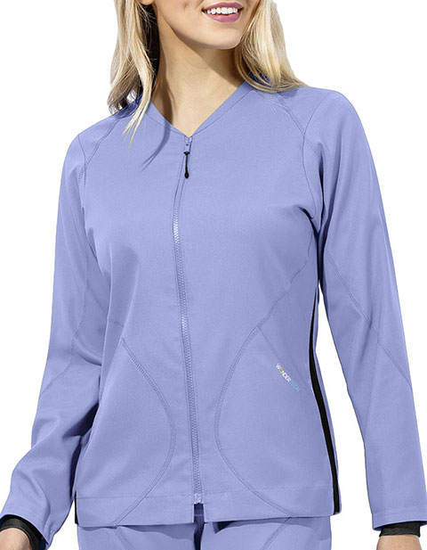 WonderWink WonderTECH Women's Warm-Up Style Jacket