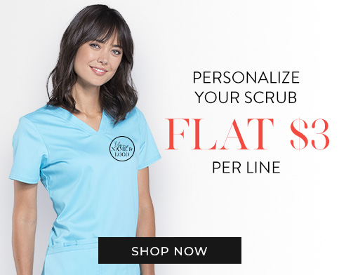 Personalize your scrubs