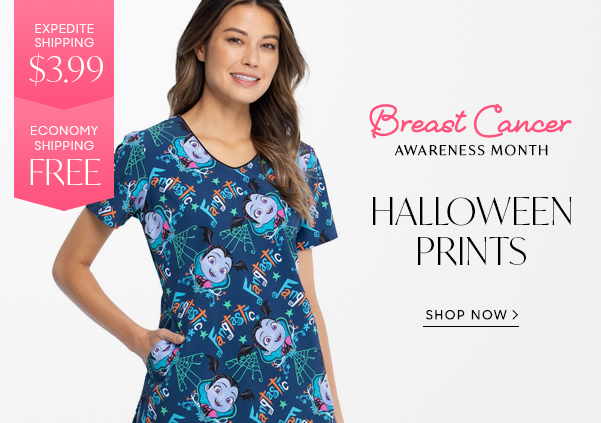 Halloween Prints Scrubs